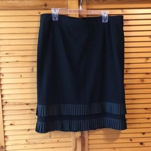Gorgeous black Lane Bryant pencil skirt